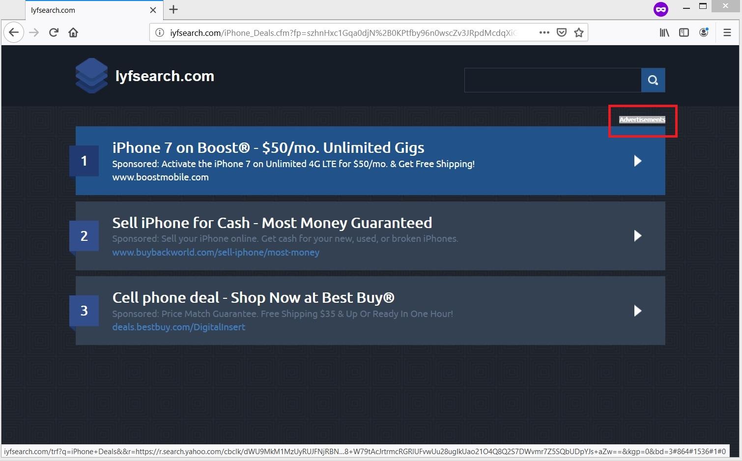 iyfsearch-com-fake-offers-sensorstechforum