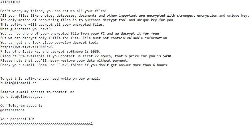 .mogera Ransomware virus remove