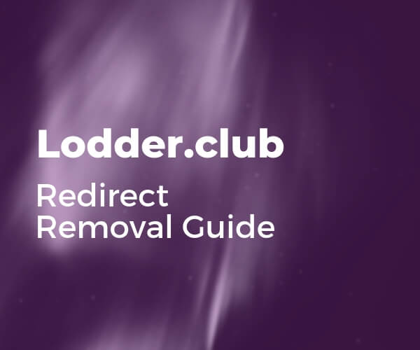 remove-lodder-club-redirect-sensorstechforum-guide