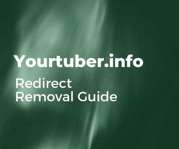 eliminar el efecto de yourtuber-info-redirect-sensorstechforum