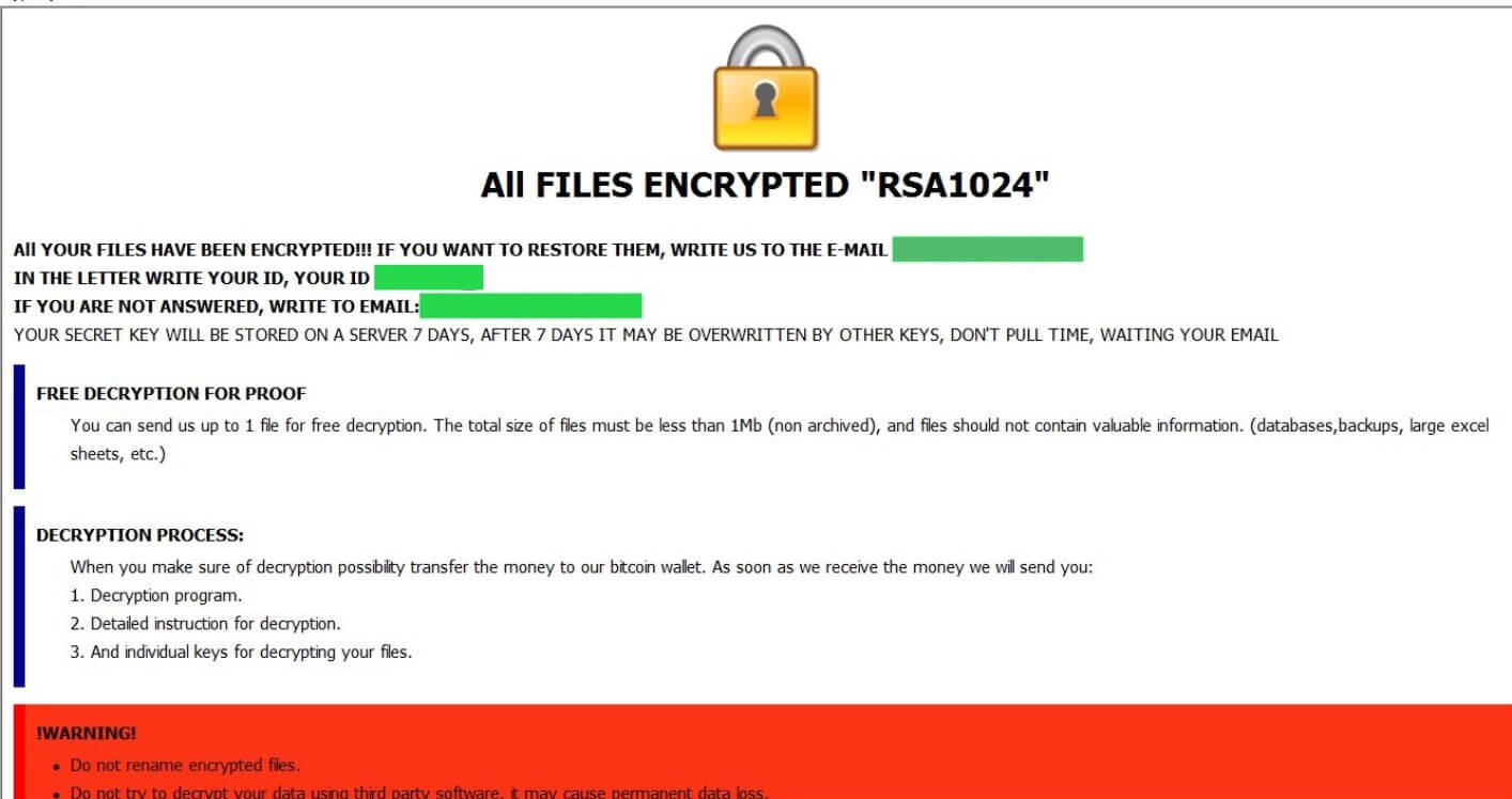 .good Files Virus (Dharma Ransomware) - Remove