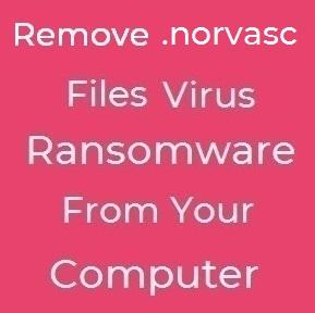 Norvasc ransomware fjern