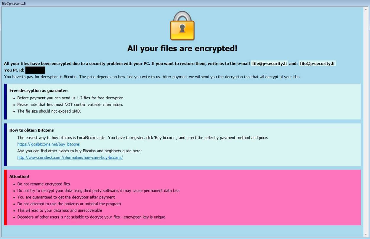 2k19sys ransomware remove