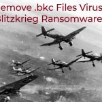 blitzkriegpc ransomware bkc files virus remove
