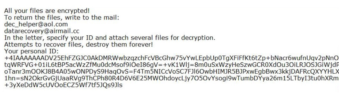 oops ransomware remove