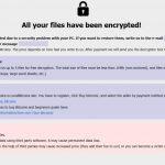 .help virus ransom note message