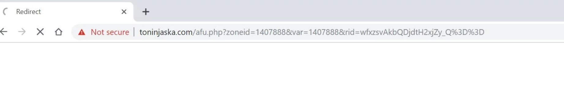 toninjaska.com redirect remove
