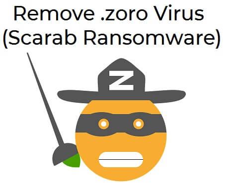zoro ransomware remove