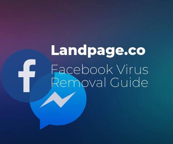 landpage-co-facebook-virus-remove-malware-sensorstechforum-guide