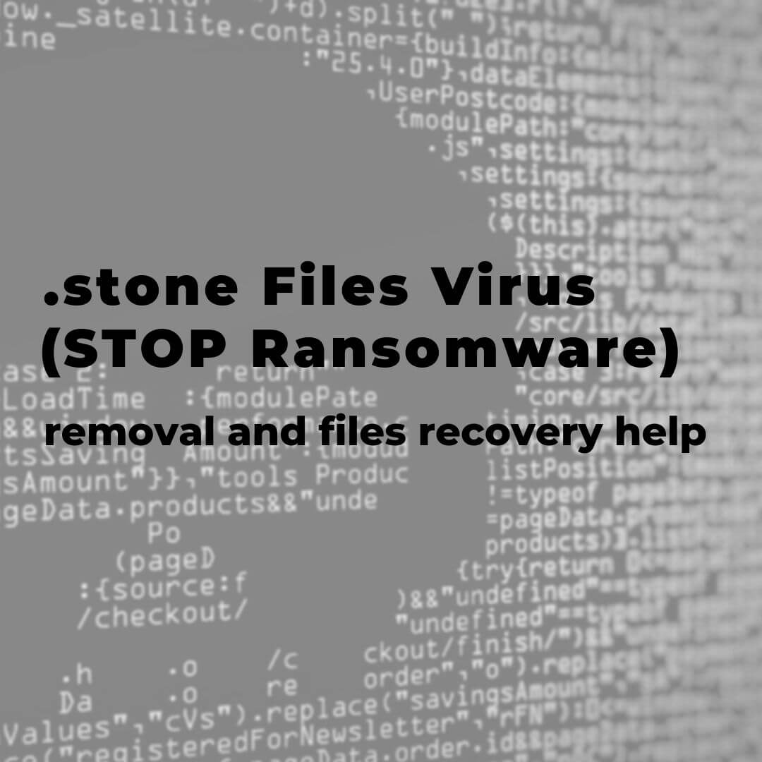 remove-stone-files-virus-restore-files-sensorstechforum-guide