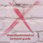 remove watchunlimited co virus sensorstechforum