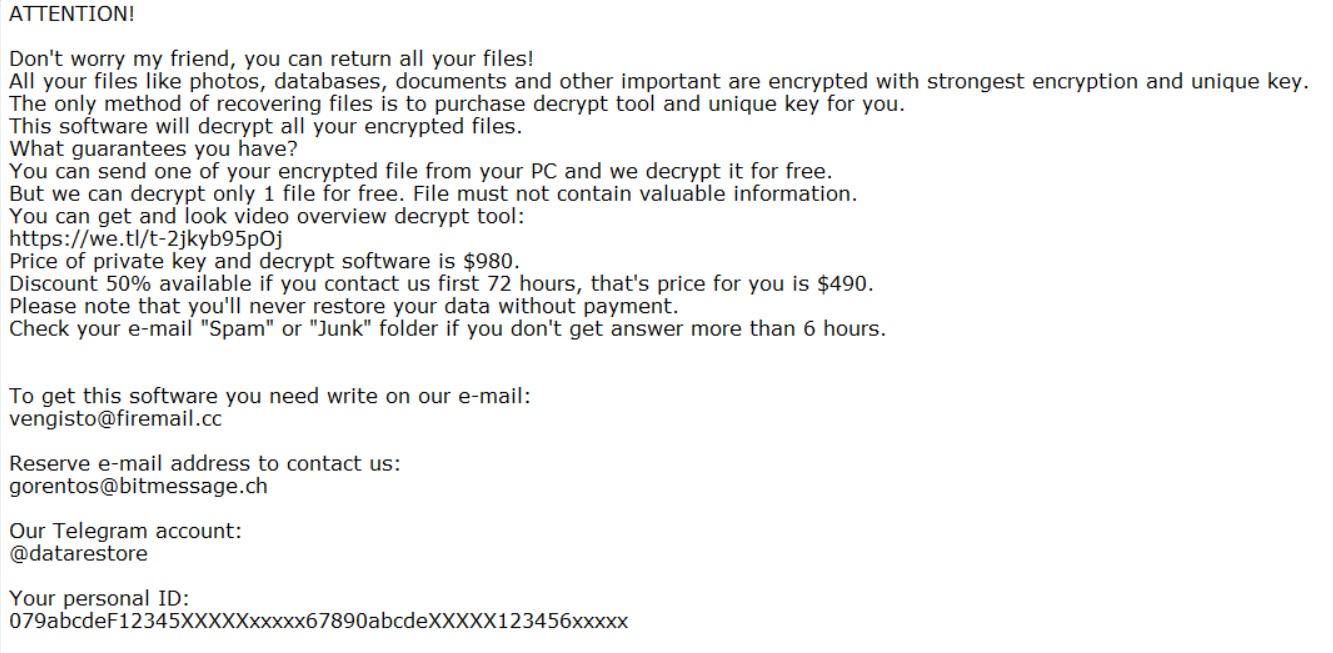 .pidom-files-virus ARRESTO