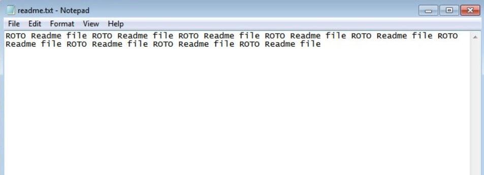 rotorcrypt ransom note