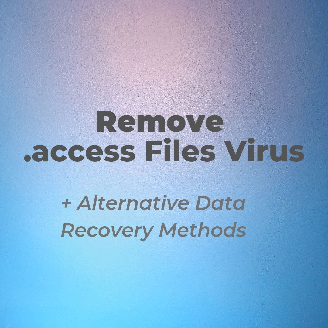 remove access virus access file sensorstechforum