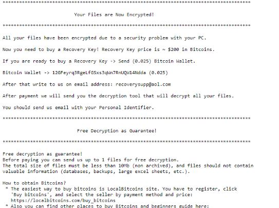 .rsalive Ransomware virus remove