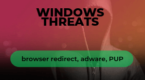 """Windows-Adware-Browser-Umleitung"""