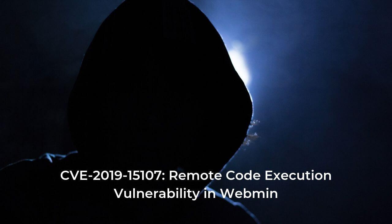 CVE-2019-15107: Vulnerabilidade Execução Remota de Código em Webmin