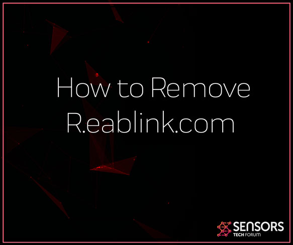 R eablink com Virus Redirect – How to Remove It