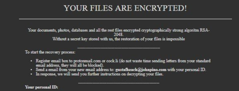 Ad Virus Ransomware ( ad Files) - How to Remove and Restore Data