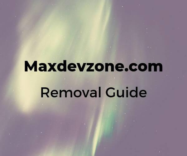 remove-maxdevzone-com-anuncios-sensorstechforum
