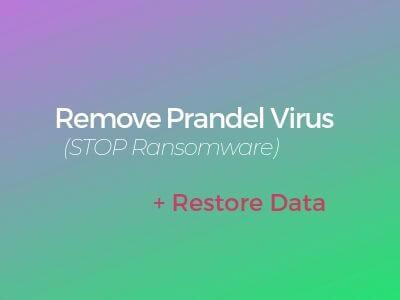verwijderen prandel virus ransomware sensorstechforum