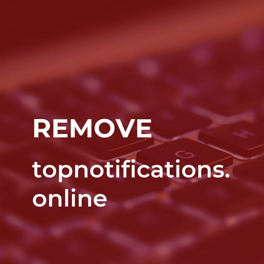 remove topnotifications online redirect sensorstechforum
