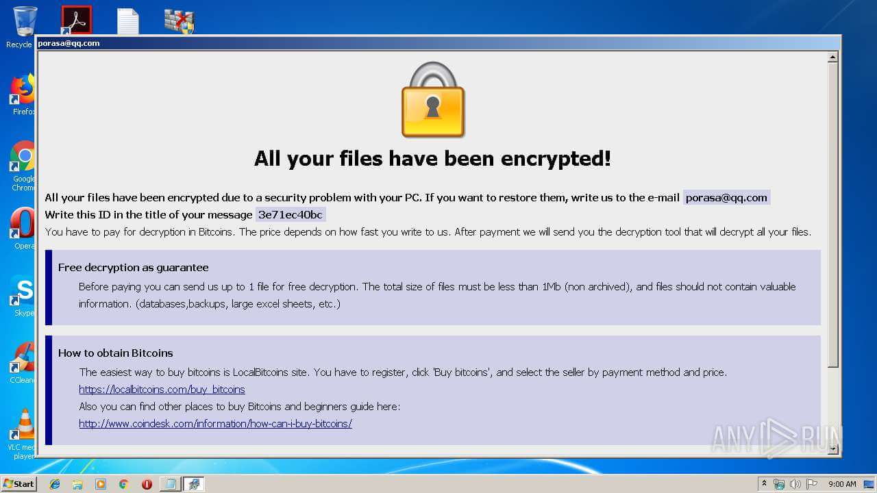 Remove STAFS Virus (STAFS File) - Ransomware Instructions