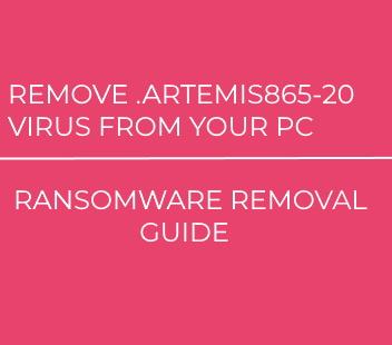 .Artemis865-20 Virus virus remove