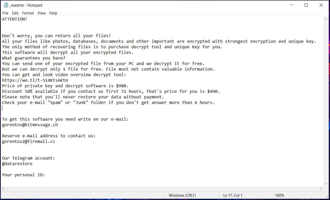 domn-virus-ransomware-ransom-note-readme-txt-sensorstechforum-removal-guide