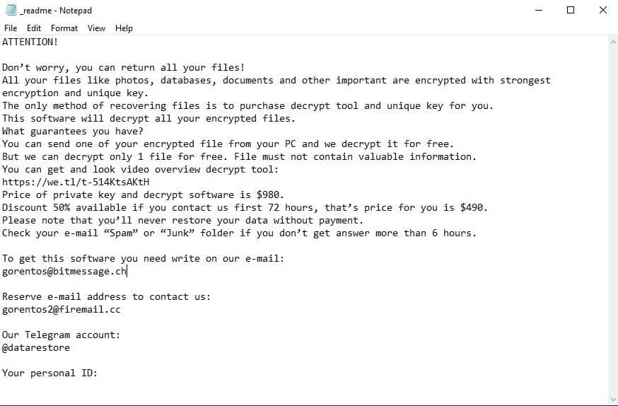 peta-virus-ransom-note-readme-txt-file