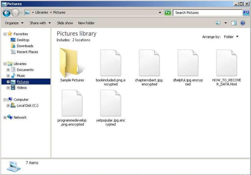 I file crittografati da medusalocker ransomware