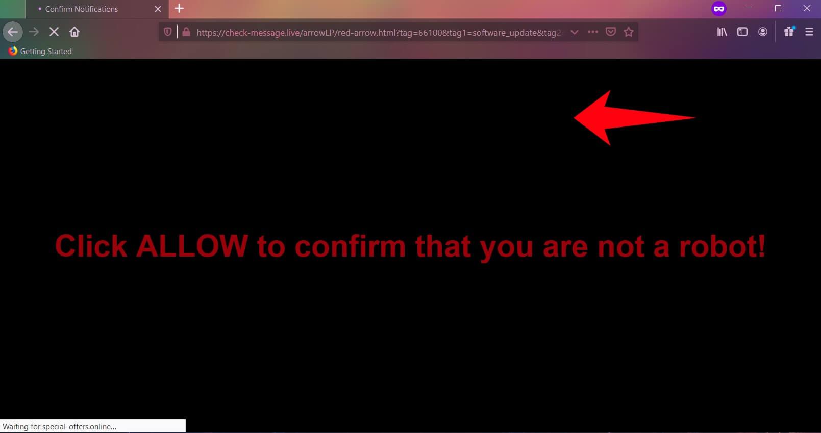 remove check-message.live ads browser pc sensorstechforum