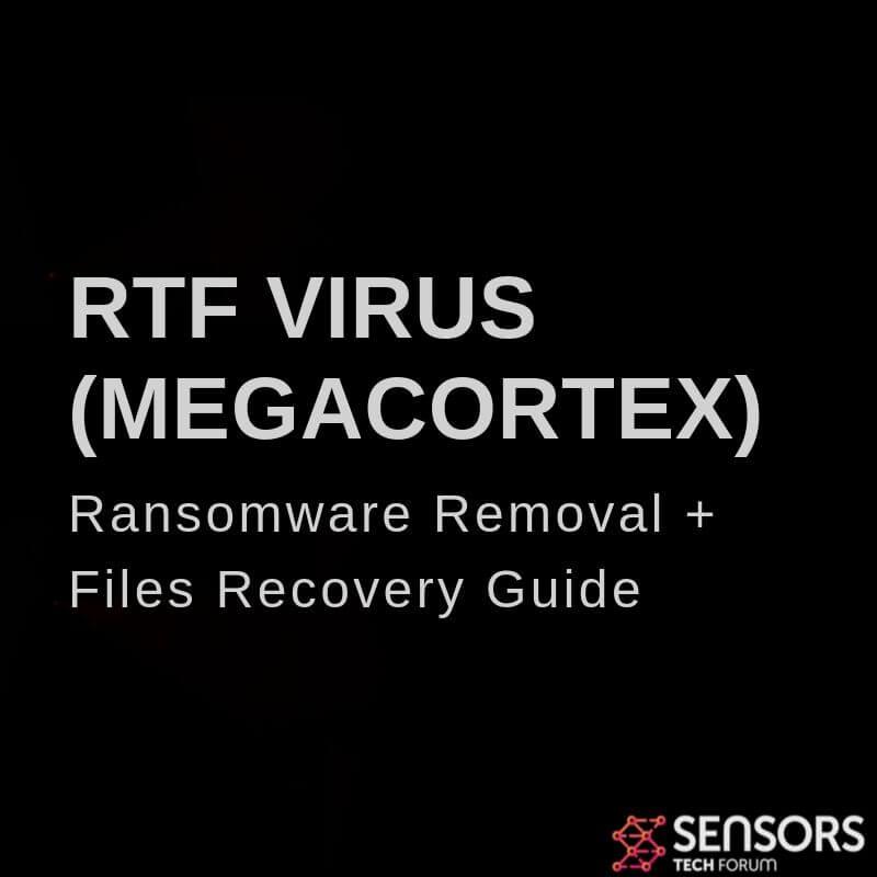 rtf virus ransomware removal guide sensorstechforum