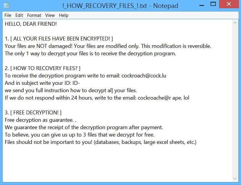 stf-COCKROACH-virus-file-ransomware