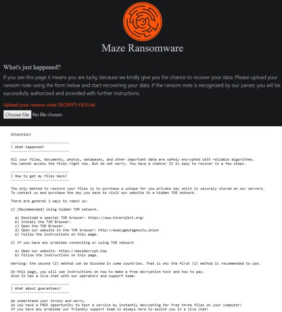 stf-maze-ransomware-2019-payment-instructions-ransom-note