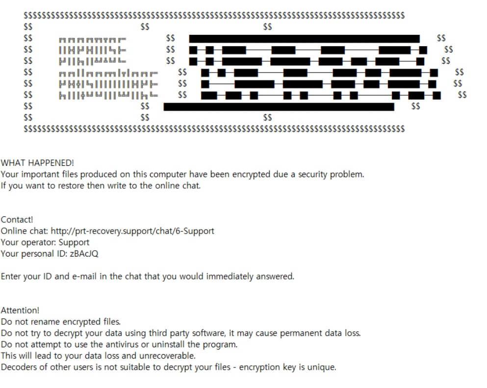 stf-sev-virus-file-paradise-ransomware