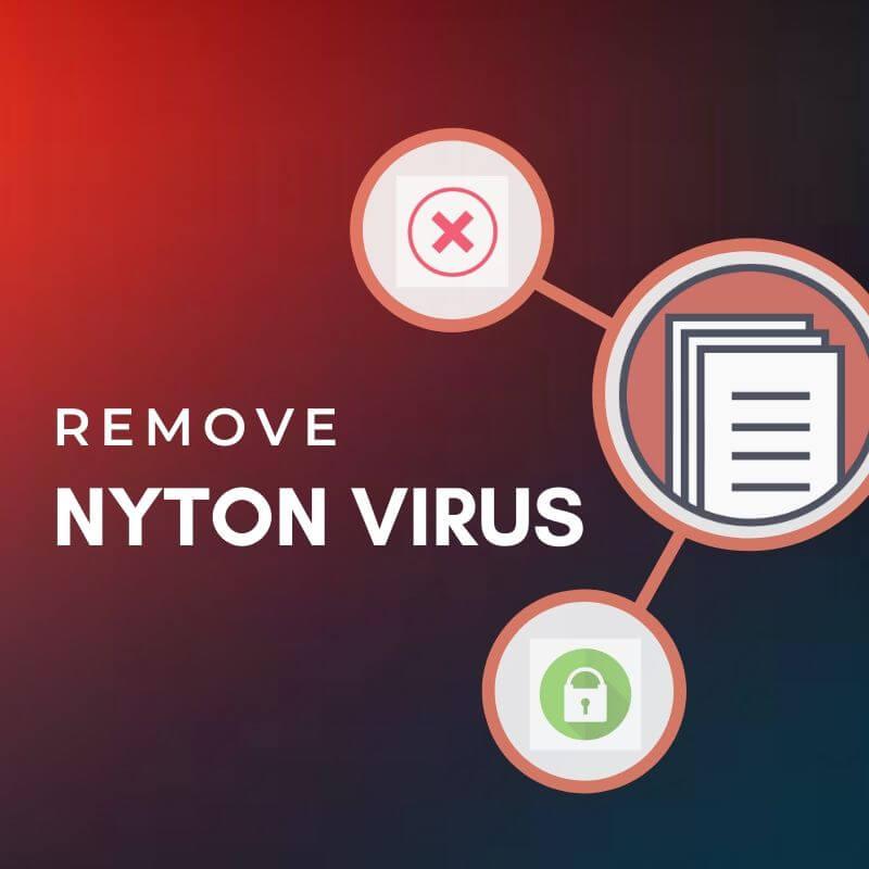 remove nyton virus ransomware sensorstechforum