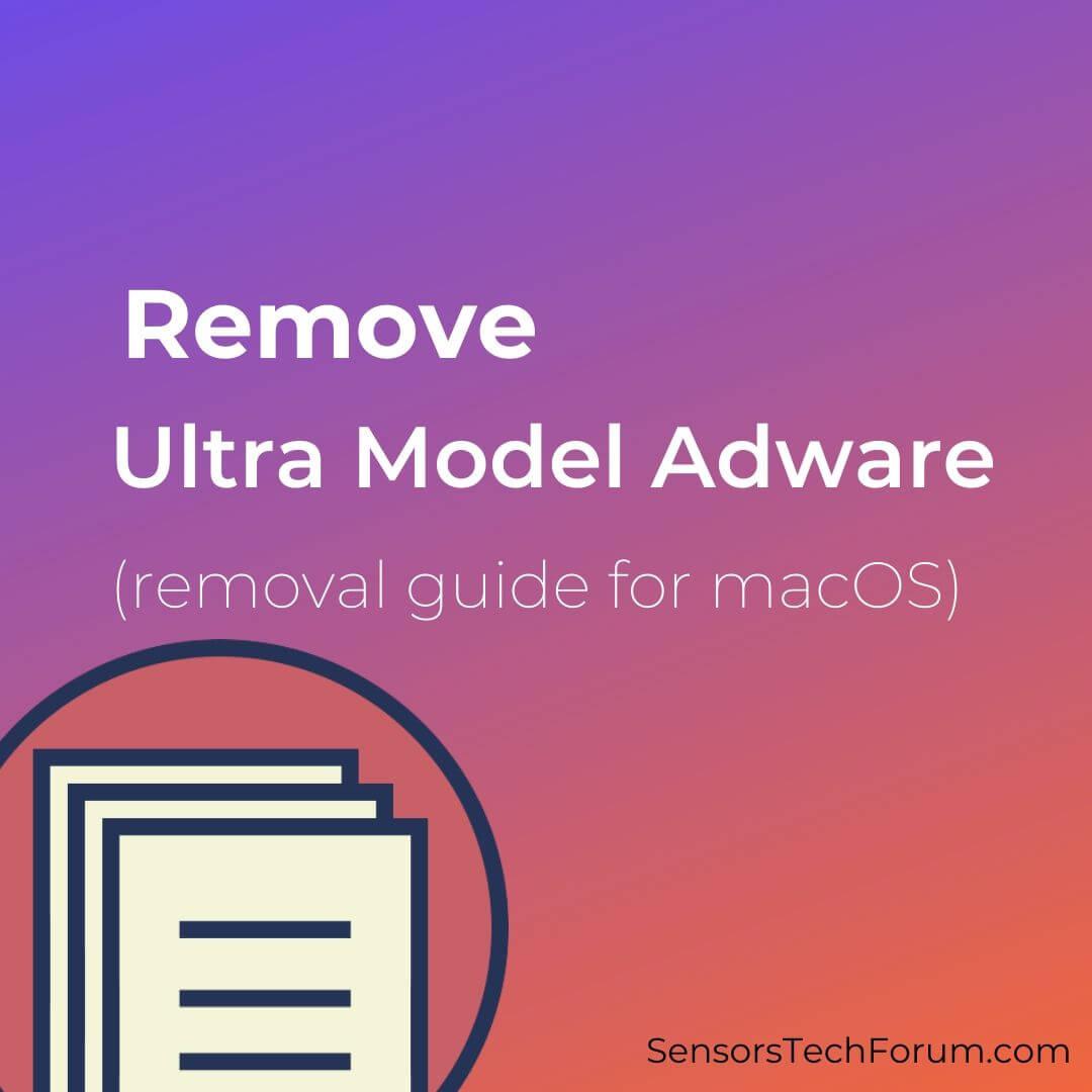 remove ultra model adware mac virus removal guide