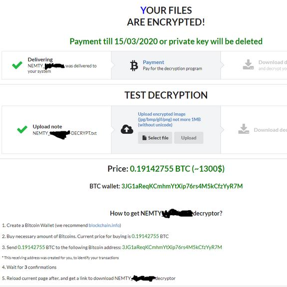 Nemty 3.1 Virus (Nemty Ransomware) - Remove It (Update April 2020)