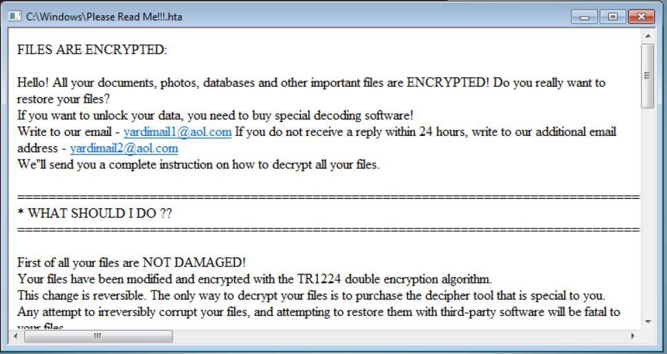deniz kizi ransomware removal stf