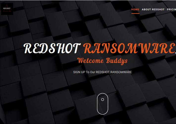 RedShot ransom note