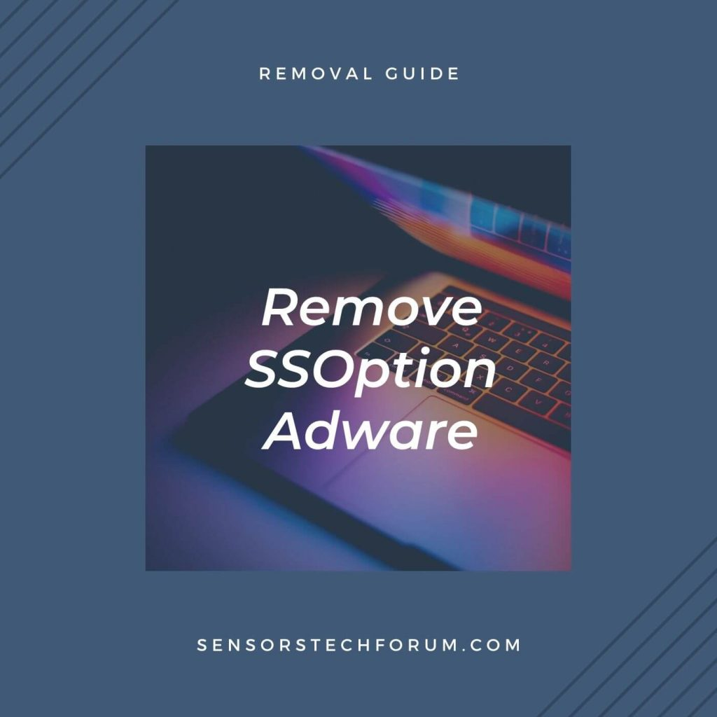 remove SSOption virus stf guide