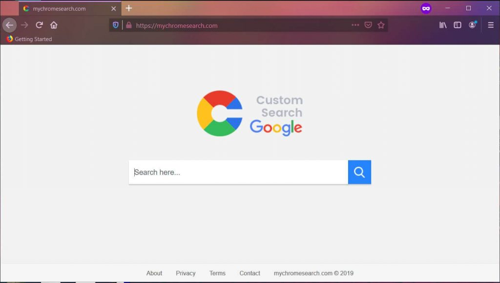 remove mychromesearch.com browser hijacker