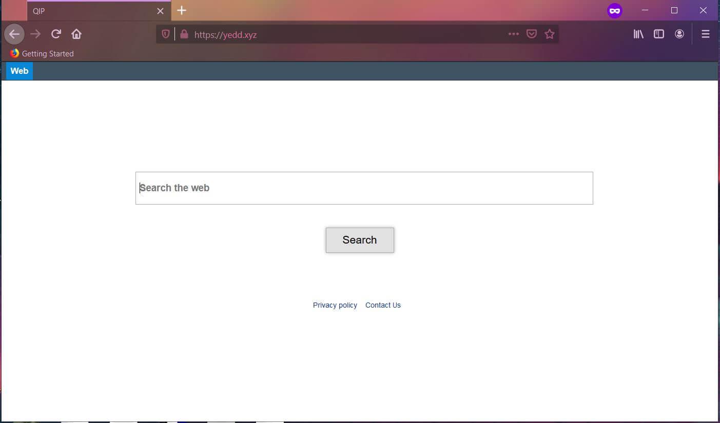 remove yedd.xyz browser hijacker