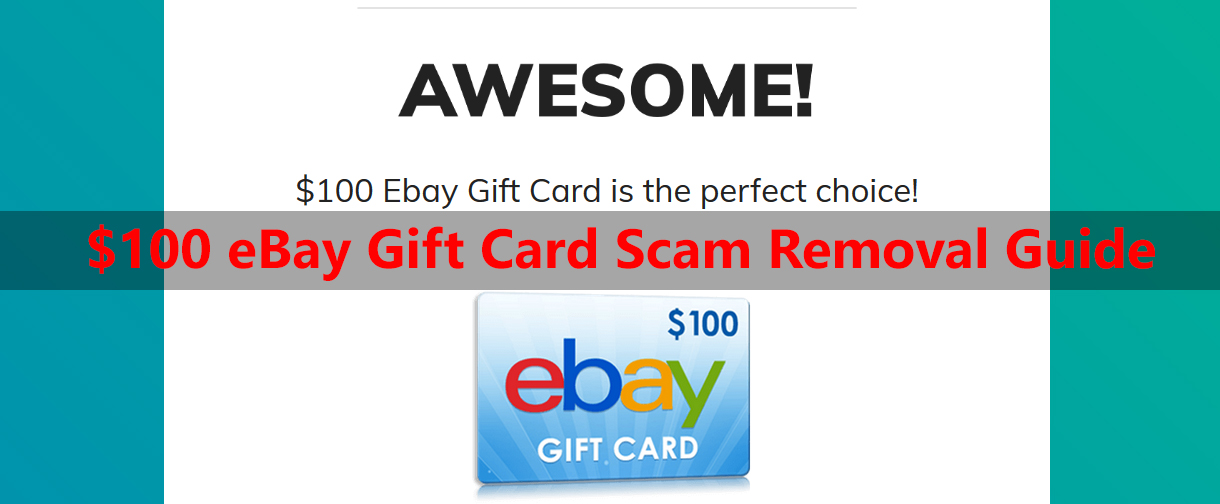 100 Ebay Gift Card Scam Removal Guide