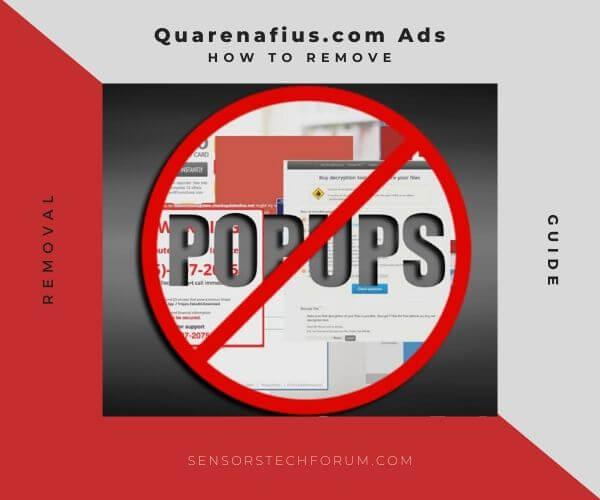 Evitar los anuncios Quarenafius.com