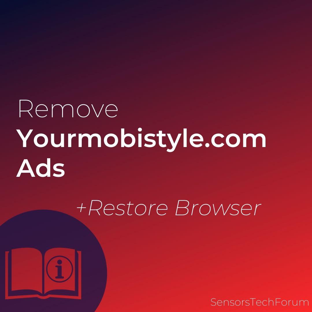 verwijderen Yourmobistyle.com advertenties