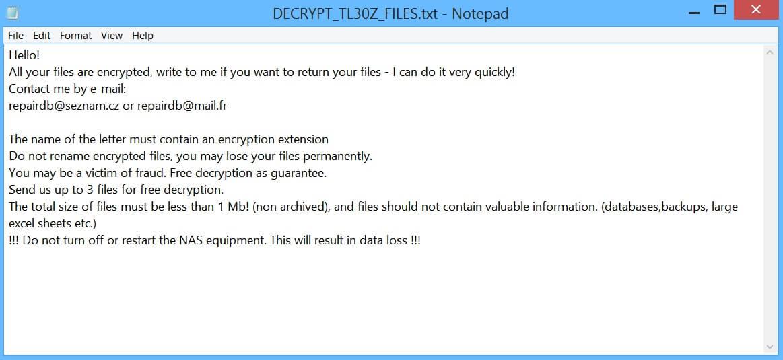 stf-Tl30z-ransomware