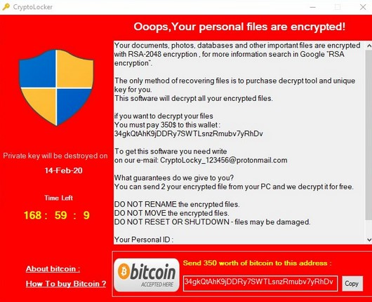 .ENCRYPTED_RSA Virus virus remove