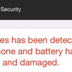 apple security 3 viruses has been detected on your iphone scam removal